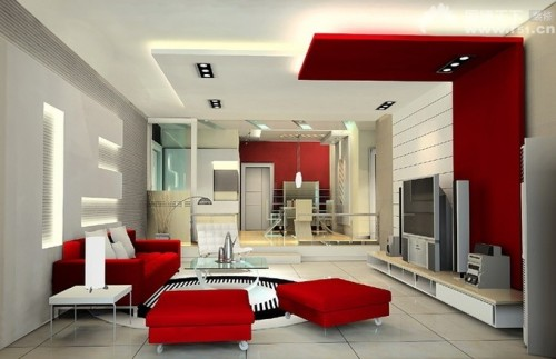 red-and-white-decor site home_designing