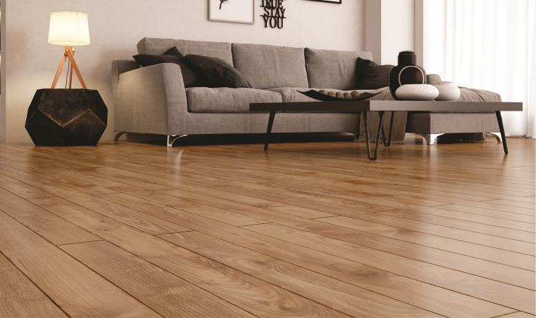Decore a sala de estar com piso laminado blog decore for Sala de estar segundo piso