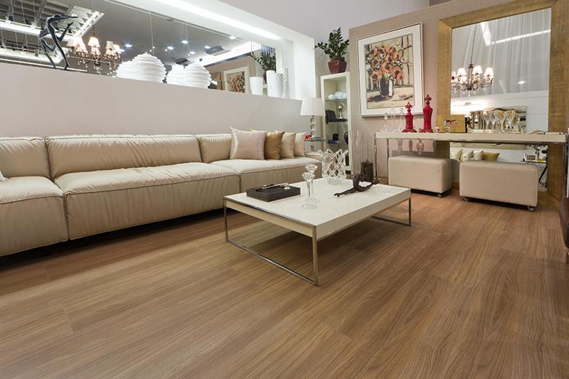 Decore a sala de estar com piso laminado   blog & decoreblog & decore