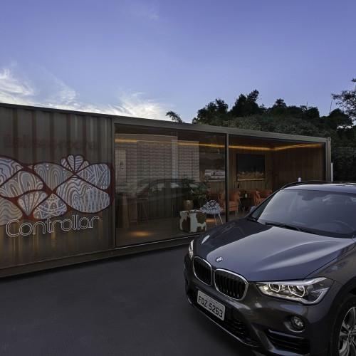 Garagem e Lounge de Saída