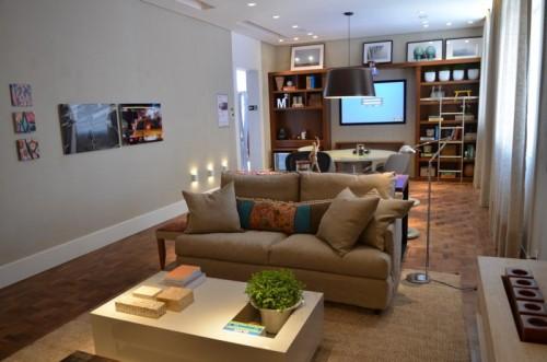 home office e biblioteca da arquiteta - casa cor 2012 - Celina Z