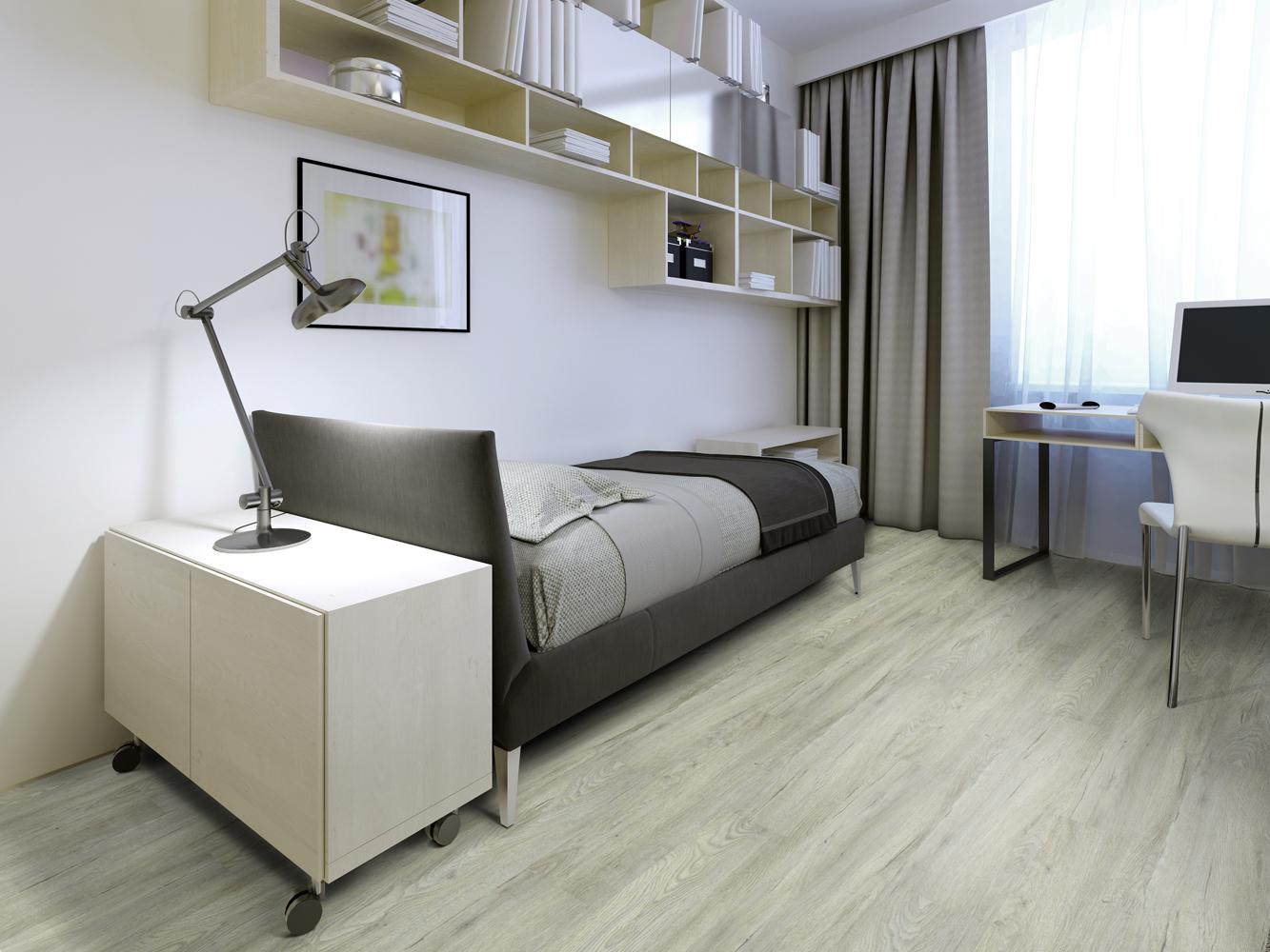 Quartos mais confortáveis com piso vinílico – BLOG