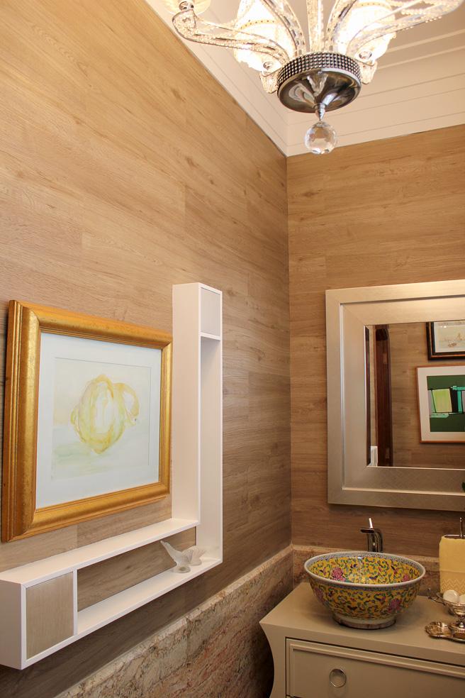7 maneiras diferentes de usar piso vin lico blog - Vinilico para paredes ...